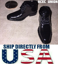 """1/6 Chukka Boots Dress Shoes For 12"""" Hot Toys Phicen Male Figure - U.S.A. SELLER"""