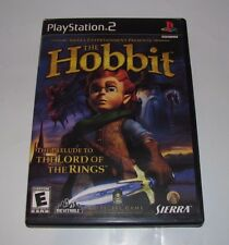 THE HOBBIT BY SIERRA FOR SONY PLAYSTATION 2 PS2 COMPLETE TESTED