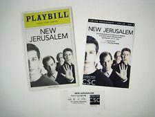 New Jerusalem Playbill 2008 Classic Stage Company Ives David Garrison Plimpton