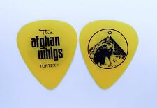 The Afghan Whigs Guitar Pick. 2014/15 Tour Pick. Yellow Greg Dulli Wolf Pick.