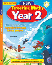 TARGETING MATHS YEAR 2 NSW EDITION 9781742151366 Free Postage