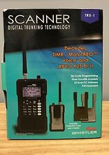 Whistler TRX1 Handheld Digital Trunking Scanner self programming NEW