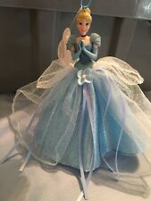 disney parks princess cinderella tulle christmas ornament new with tag