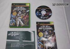 Star Wars: BATTLEFRONT II (Microsoft XBOX 2005) COMPLETE! Orig Case Art SHOOTER!