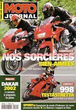 MOTO JOURNAL 1500 Essai DUCATI 900 Mhe 998 Testastretta GUZZI Ghezzi Brian 1100