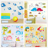 Ocean fish whale baby Home Room Decor Removable Wall Sticker Decal Decoration