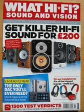 What Hi-Fi March 2015 £200 speakers Chord Oppo DAC Headphones