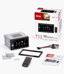 BOSS Audio Double Din touchscreen Radio DVD MP3 CD ~NEW~