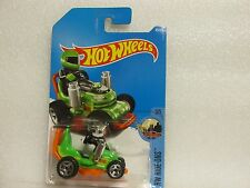 HOT WHEELS 2017 045/365 LC RIDE ONS 3/5 GRASS CHOMPER NEW ON LONG CARD