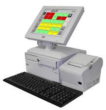 Touchscreen Kassensystem für Gastronomie Restaurant bis 30 Tischen / Gastrokasse