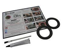 """INFINITY SPEAKER REPAIR Parts 4"""" Woofer Foam Edge Repair Replacement Kit # FSK-4"""