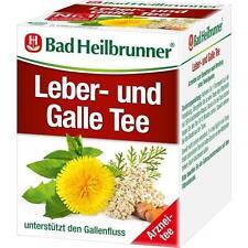 BAD HEILBRUNNER Tee Leber und Galle Filterbeutel 8 St
