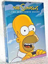 The Simpsons Nineteenth 19th Season (DVD, 2019, 4-Disc) NEW Matt Groening comedy