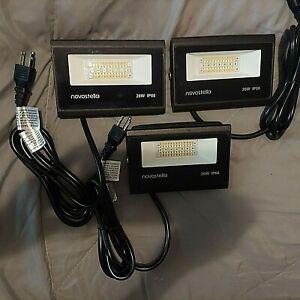 Novostella 3 Pack 20W Smart LED Flood Lights RGBCW 2700-6500K 2000LM WiFi Oudoor