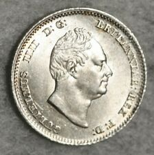 More details for 1836 william iiii iv groat four pence silver coin stunning choice uncirculated