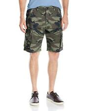 Quiksilver - Deluxe Cargo Short Green (Camoflage) Men's Shorts Size 29 Free P&P