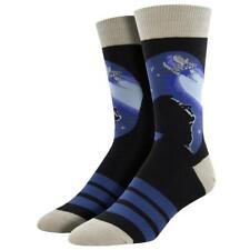 Socksmith Men's Crew Socks NASA International Space Stargazer Rocket Launch