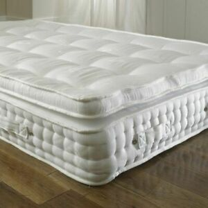 The Pocket 2000 Sprung Pillow Top Orthopaedic Mattress - British handcrafted