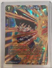 Dragon Ball Super Card Game Single Card Son Goku, the Adventure Begins (BT6-107)