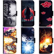 PIN-1 Anime Naruto Collection Phone Wallet Flip Case Cover for Nokia