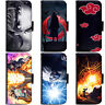 Anime Naruto Collection Phone Wallet Flip Case Cover for HTC Nokia Oppo Xiaomi