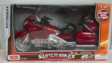 MotorMax Superbikes Honda Gold Wing Diecast Model Bike