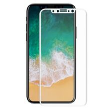 Apple Iphone x 3D Armor Protection Glass Film Screen Cases 360 White