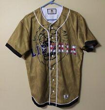 Rare Discontinued Liberia Baseball Jersey By Mizizi Mens Size - Large