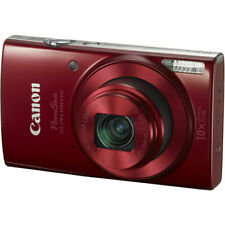 Canon PowerShot ELPH 190 IS Red Camera with 10x Optical Zoom and Built-In Wi-Fi