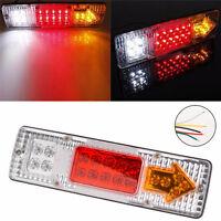 1x19 LED Tail Light Car Truck Trailer Stop Rear Reverse Turn Indicator Lamp 12V^