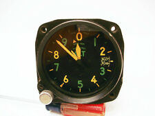 WWII Army Air Forces C-12 Altimeter, Yellow/Green Face, P-61 Black Widow, B-25