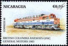 BRITISH COLUMBIA RAILWAYS (BC Rail) GMD Class GF6C No.6003 Electric Train Stamp