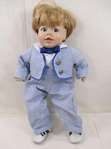 "16"" Adorable Baby Boy Doll"