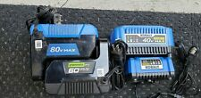 Kobalt 80v 40v 24v & greenwork 60v - all 4 battery chargers