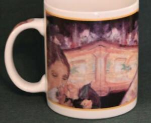 "Cafe Arts Mug with Mary Cassett design - Nice ""The Loge"""