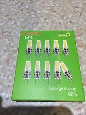 10x g4 2 W (220 lumens) DEL fluocompactes Bulbs Non Dimmable