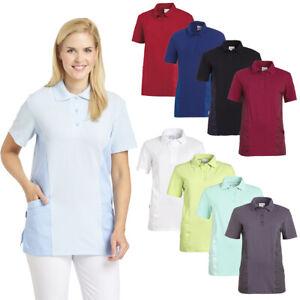 Leiber Damen Polo Schlupfkasack Kasack Damenkasack Arbeitskleidung Pfleger