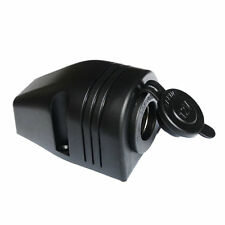 12V Motorcycle Car Cigarette Lighter Power Socket Power Outlet Waterproof LS