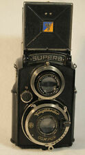 VOIGTLANDER Superb Twin-Lens Reflex Camera with 1:3.5 f=7.5 cm Skopar Lens
