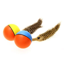 Funny Alive Dogs Cat Weasel Jumping Moving Rolling Pet Ball electronic Water Toy