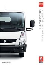 Renault Trucks Maxity 06 / 2016 catalogue brochure Tcheque Czech RVI
