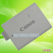 Genuine Original Canon LP-E5 LPE5 Battery for EOS Kiss X3 X2 RebelX 500D LC-E5E