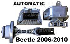 9R3901 3pc Motor Mounts fit 2006 - 2010 Volkswagen BEETLE 2.5L Engine AUTO Trans