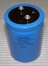 73000uf 15V CAPACITOR-SPRAGUE COMPULYTIC RADIAL SCREW TOP-105mmX70mm