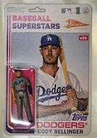 2020 Topps Big League Super7 MLB Action Figure #35 Cody Bellinger - Dodgers