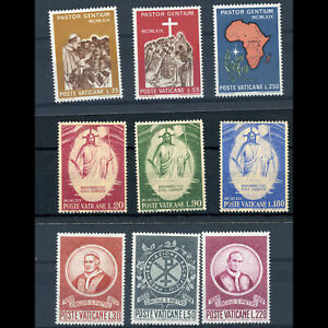 VATICAN 1969 3 Sets. SG 525-527, 519-521 & 528-530. Mint Never Hinged. (WD077)