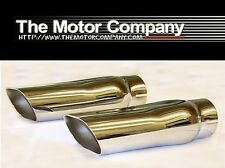 1969 1970 1971 1972 Chevelle SS396 SS454 2 1/2 Inch Exhaust Tips H-1915 (In Stk)