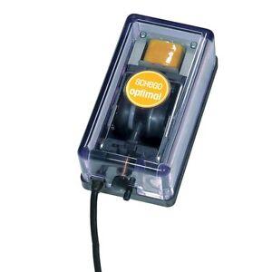 SCHEGO Membranpumpe optimal 250l/h  Luftpume Pumpe Sauerstoffpumpe Aquariumpumpe