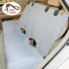 New listing Bench Dog Car Seat Cover For Back Seat, 100% Waterproof Covers, Heavy-Duty &amp