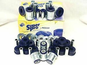SUPERPRO Radius Arm /& Panhard Rods Bushes For TOYOTA LAND CRUISER-80 Fr /& Rr